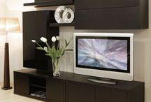 Centros de TV / Haz memorables tus momentos de familia y amigos con nuestros centros de entretenimiento.