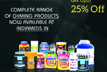 Get Amazaing offers Gym Supplement on Indiameds / Upto 25% off on complete range of Gym supplement