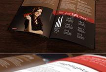 brochure . editorial