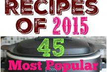 recipes of 2015