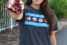 Merchandise / Chicago themed and also doughnut themed apparel that compliments the lifestyle of doughnut lovers.