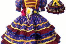 Vestidos quadrilha