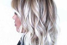 blond hair .