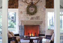 FIREPLACES / Fireplace inspiration / by Lisa Dickner-Goulet, Interior Decorator