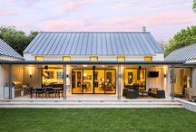 modern farmstyle house