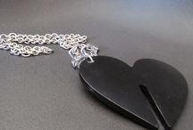creazioni in resina / oggetti in resina, pendenti, ferma carte---