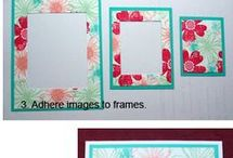 Frame -2 of them- used for framing on cards or framing images