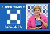 Squares quilting