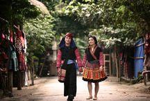 Reisen nach Hoa Binh- eine nordwestliche Provinz in Vietnam / Hoa Binh ist 73 km von der Hauptstadt Hanoi entfern. diese gebirge Provinz bietet man nicht nur schöne unberührte Landschaften sondern auch viele geschmackvolle Spezialitäten an +++ Located in the North of Vietnam, Hoa Binh Province is 73 km to the northwest of Hanoi. In Hoa Binh, there are not only uncountable attractive Landscapes but also tasteful specialities.