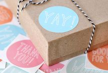 Packaging Inspiration / Maybe it's gilding the lily, but here are beautiful ways to package things.