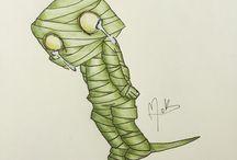 M.K - Drawings/Desenhos