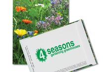 Lawn & Garden / Anyone can become a green thumb with personalized seed packets, all-in-one grow kits and other fun garden giveaways!