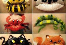 Make Up Karneval & Halloween / Kostüme und Make Up