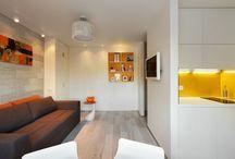 Небольшие квартиры / дизайн интерьера