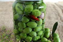 Ricette olive verddi in salamoia