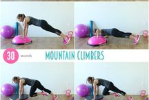 Woman workouts