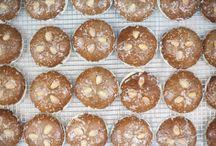Lebkuchen / Nuremburg-style cookies for the holidays.