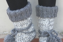 Crochet Slippers / by Ginnie Brady