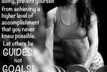 fitness quotes  / by Kara Molitor