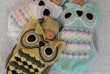 Crochet Baby Cocoons