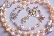 stella maris fresh water cultured pearl rosary