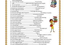 English worksheets 7