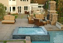 Pool and spa tiling ideas