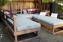 Outdoor Living / Outdoor rooms, outdoor living space, exterior home ideas, etc;  / by Ashley McMillan