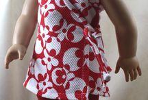 Játékbaba ruha