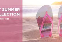 Havaianas Spring - Summer Collection 2015 / Funky flip flops straight from Brasil.