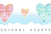Origami Heart Tutorials / A selection of Origami Heart diagrams & video tutorials!