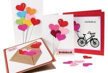 Ystävänpäivä / Ideoita Ystävänpäiväkortteihin