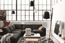 Magic Monochrome / A mix of black and white is a bold move in interior design, and  certainly packs a punch!  On-trend, yet classic, it is unlikely to date quickly.  Take a look at some inspirational room designs, and at the best picks of high street homeware available now.
