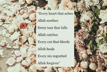 """""""Allah, """" my peace, my comfort, my everything❤"""