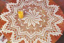 Mandalas tejidos a crochet