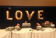 The Berwick - Hanging Decor / Decorations hanging in Tents, Venues, etc... to accent your reception!