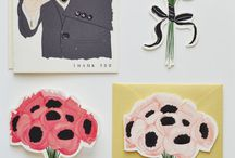 WEDDING PAPER ITEMS.