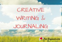 Creative Writing + Journaling / : A collection of epically awesome articles and resources to help you get your creative muse on!