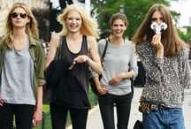 Models off duty / Model off duty street style