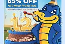 HostGator Web Hosting / HostGator is going to completed 12 Years in Web Hosting Company. Snappy is turning 12 next week and he is going to celebrate by offering Up To 65% Off new hosting Service!! Starting next Wednesday, October 22nd at 12am CST, It will be running a 24 hour a sale that will end at 11:59pm CST that evening.