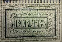 Sanefes - Borders