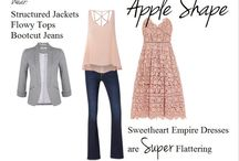 apple shaped outfit