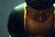 Buddha's calmness
