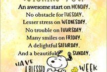 nuwe week boodskap
