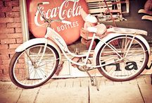 Ridin' around on a pushbike, honey / gorgeous vintage-style bikes / by Gemma Cleveland
