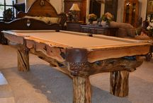 Pool Tables & Game Rooms / Pool tables, billiards tables, custom bars, and game room furnishings by Scottsdale Art Factory.