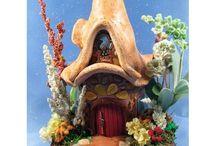 Fairy Houses & Gardens / by Paula (Mollet) Murphy