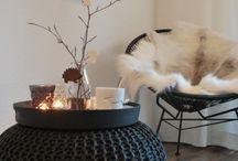 Winterse styling / Haal de warmte in huis met deze winterse styling.
