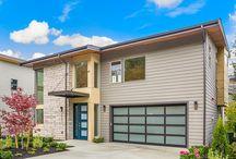 Mountain View / New luxury homes in Kennydale Renton with Lake Washington views.