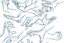 Käden piirtäminen